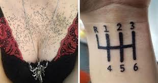 Nejhorší Tetování Kterých Se Jen Tak Nezbavíš Ockotv