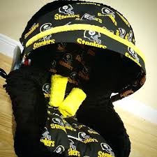 steelers car seat covers suv