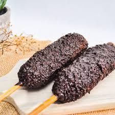 Bikin nugget pisang banyak digemari nih. Jual Sate Pisang Taichan 1 Box Isi 2 Blueberry Kota Bekasi Hd Corndog Tokopedia