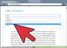 to do lists templates how to customize a to do list by using templates 11 steps