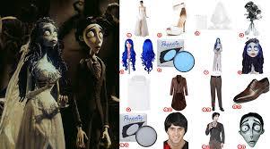 emily victor van dort costume for cosplay halloween