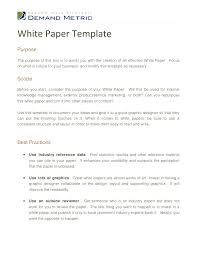 great papers templates white paper template
