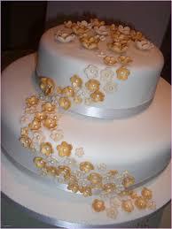 Golden Wedding Cakes Best Golden Wedding Anniversary Cakes Wedding