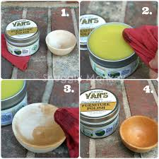 All Natural Beeswax Wood Polish Daddy Van s 5 oz tin Snuggly
