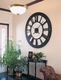 oversized wall clock clock wall decor