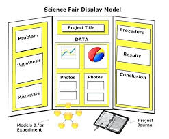 science fair display board templates fold display board template project review jaxos co