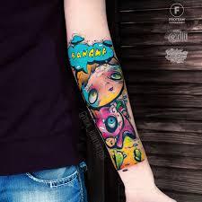 профессиональный тату мастер вика Kiwi город москва