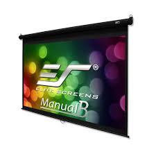 elite screens 120 inch 16 9 manual b pull down amazon in electronics