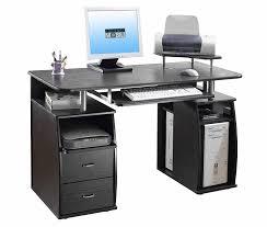 dual desk bookshelf small. Amazon.com: TECHNI MOBILI Complete Computer Workstation Desk With Storage - Espresso: Office Products Dual Bookshelf Small