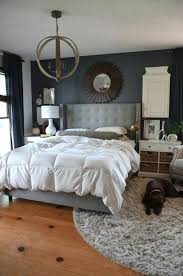 bedroom with grey walls bedroom gray gray walls round rug white ceiling grey bedroom ideas with black furniture