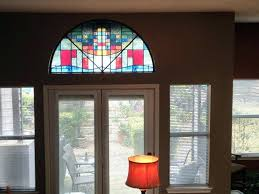decorative stained glass window panels home decorating