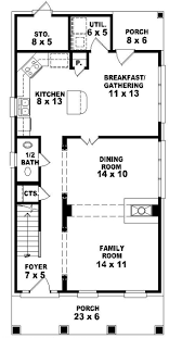 marvelous house plan for small lot 19 narrow with rear garage