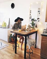3775 Likes 42 Comments  Viktoria Dahlberg viktoriadahlberg on  Instagram  Studio Apartment KitchenApartment DeskStudio