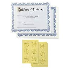 Completion Certificates Certificate Of Completion Amazon Com