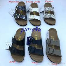 men s clogs pu leather two strap slides casual sandals for men and women designer brand shoes cork arizona berks flip flops