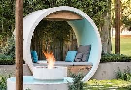 urban furniture melbourne. urban garden pipe dream alison douglas fire pit concrete pipes green furniture melbourne