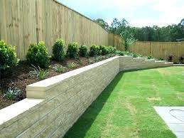 landscape retaining wall ideas plants pool garden design backyard w