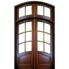 exterior double doors. DSA Doors, Model: Aberdeen TDL E-19 Exterior Double Doors