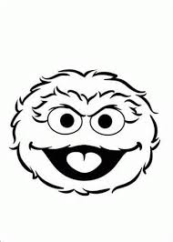 5c4138368d202caad95c69bee9bd4604 coloring page of oscar head oscar the grouch pinterest on oscar statue cookie template printable