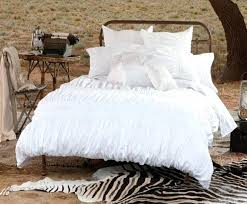 twin white bedding set pure white shabby chic ruffled bedspread and comforter with black throughout ruffle