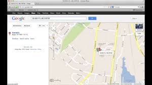 finding gps coordinates with google maps  youtube