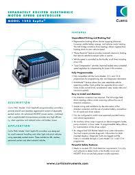 diagram electric wiring motor 205805 diagram diy wiring diagrams model 1243 sepex® curtis instruments pdf catalogue technical