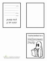 grade halloween worksheet story starter halloween worksheets  halloween second grade holiday paper projects worksheets make your own halloween invitations worksheet