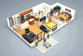 house plan of simple one post