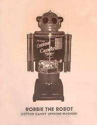 Robot Cotton Candy Vending Machine Interesting Cotton Candy Robot By Target International Holdings Ltd The Old
