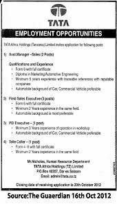 Sales Executive Job Description Asst Manager Sales 2 Posts Field Sales Executives 3 Posts Pdi
