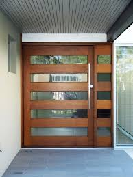glass panels main door designs