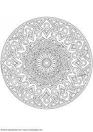 Kleurplaat Mandala 1702j Afb 4526 Images
