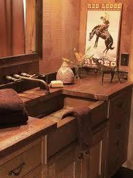 Western Bathroom Decor Country Western Bathroom Decor Hgtv Pictures Ideas Southwestern