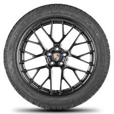 Porsche 20 Rs Spyder Design Wheels Original Porsche 20 Inch Rims Macan Rs Spyder Winter Wheels