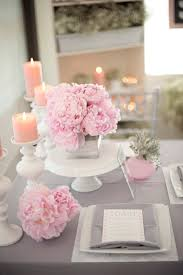 wedding decorations for tables. Interesting Accessories For Wedding Table Decoration With Pink And White Flower Centerpiece : Fascinating Decorations Tables
