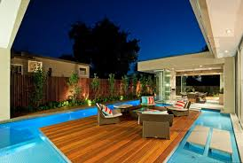 Wooden Pool Decks Wonderful Swimming Pool Design Idea With Wooden Floor Deck Decor