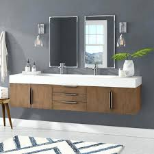 wall mounted double vanity bathroom set 1500mm hung sonix 1500 basin unit grey