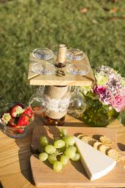 this glasses holder can serve as a means to keep the cluttered look under control it is also great for entertaining especially for use outdoors when