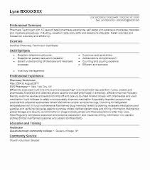 Pharmacy Technician Resume Examples Inspiration Pharmacy Technician Resume Template Hospital Pharmacy Technician