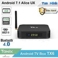 Shop bán Android TV Box TX6 - Alice UX, Ram 4GB, Bộ nhớ trong 32GB - Dual  Wifi
