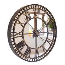 mirror wall clock big wall clocks