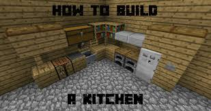 Kitchen For Minecraft How To Build A Kitchen In Minecraft Youtube
