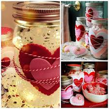 Decorative Canning Jars 100 Crafty Cute Mason Jar Ideas For Valentine's Day Gifting And Décor 72