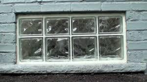 glass block window installation 2016