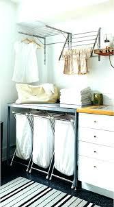 wall mount drying rack mounted for laundry room wardrobe racks dish ikea