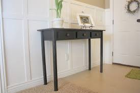 distressed entry table. entry table #2 {black distressed} \u0026 tutorial distressed .