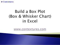 How To Create A Box Plot Box Whisker Chart In Excel