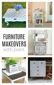 Bloggers DIY Furniture Makeovers with Paint