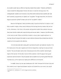 extended essay final draft  teacher s knowledge 5