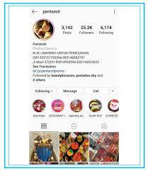 Hal ini karena setelah melihat username, pengunjung akan fokus pada deskripsi bio. Contoh Bio Instagram Bisnis Makanan Cara Golden